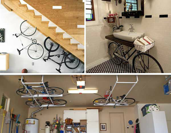สารพัดไอเดียการเก็บจักรยานในพื้นที่จำกัด