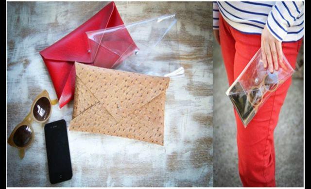 DIY กระเป๋าพลาสติก สวย เก๋ ไม่กลัวเปียก