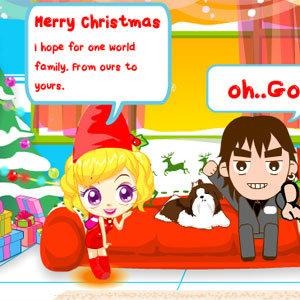 เกมส์แต่งบ้าน Christmas Card