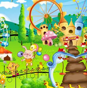 เกมส์แต่งบ้าน Happy Garden