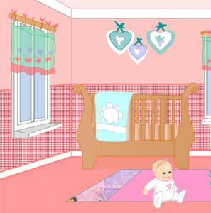 เกมส์แต่งบ้าน Cindys Baby Room