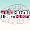 เกมส์ฝึกสมอง who has the biggest memory