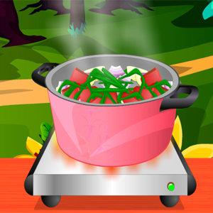 เกมส์ทำเค้ก เกมส์ทำต้มซุปไก่