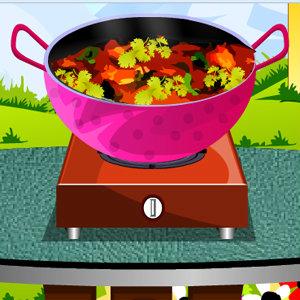 เกมส์ทำอาหาร เกมส์ทำไก่บูน่าสูตรอินเดีย