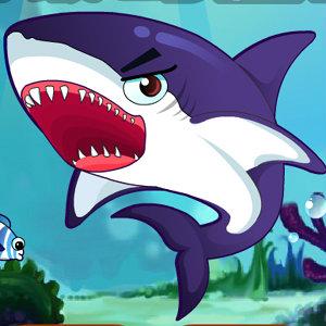 เกมส์ปลาฉลามกินปลาเล็ก