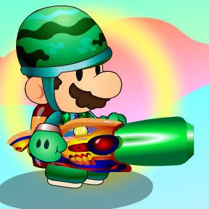 เกมส์ เกมส์มาริโอ้ผจญภัยยิงปืน