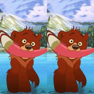 เกมส์จับผิดภาพพี่หมี