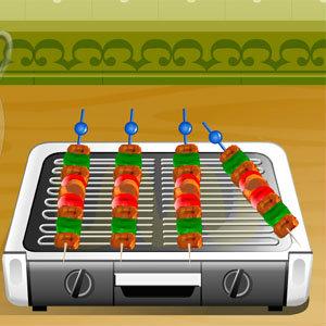 เกมส์ทำอาหาร เกมส์ทำเคบับไก่สไตล์อาหรับ