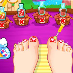 เกมส์แต่งตัว เกมส์ทาเล็บเท้าสวยๆ