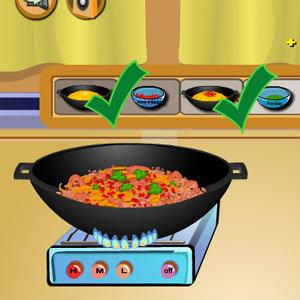 เกมส์ทำอาหาร เกมส์ทำสปาเก็ตตี้ทูน่า