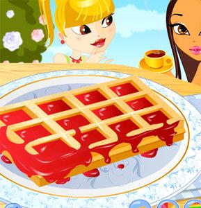เกมส์เสิร์ฟอาหาร Belgium Waffles