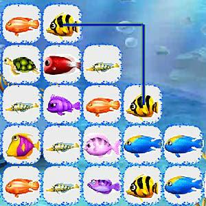เกมส์จับคู่ under water match