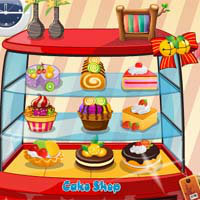เกมส์แต่งบ้าน Cake Shop Decoration