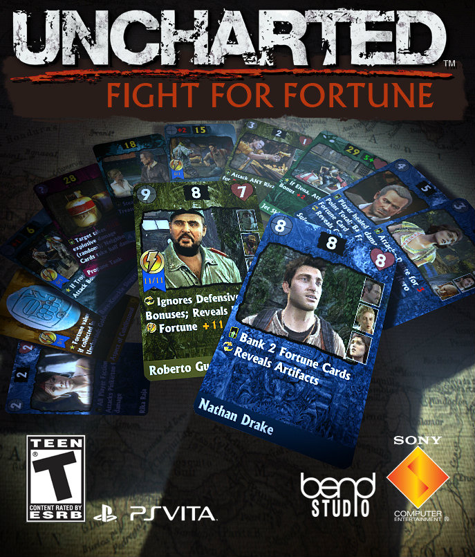 UNCHARTED: Fight for Fortune การ์ดเกมล่าสมบัติ
