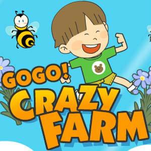 เกมส์ปลูกผัก go go crazy farm