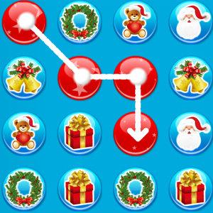 เกมส์จับคู่ christmas connect
