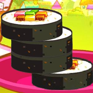 เกมส์ฝึกสมอง stacking up kimbop