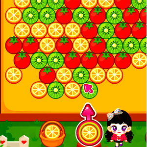 เกมส์ยิงลูกบอล Judy fruit