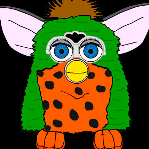 Furby and his clothes