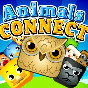 เกมส์จับคู่ animals connect