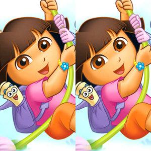 เกมส์จับผิด Dora - 6 Differences