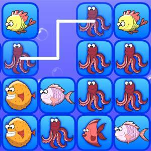 เกมส์จับคู่ fish connect