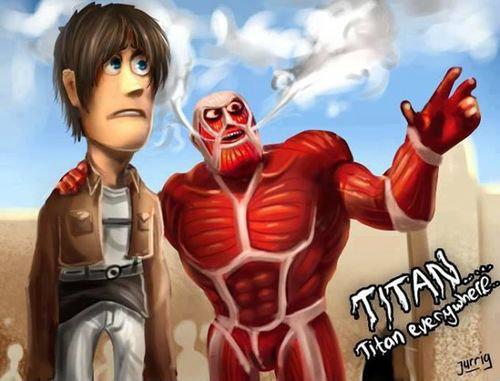 รวมภาพแซว Attack On Titan ดังจริงจนต้องล้อ!