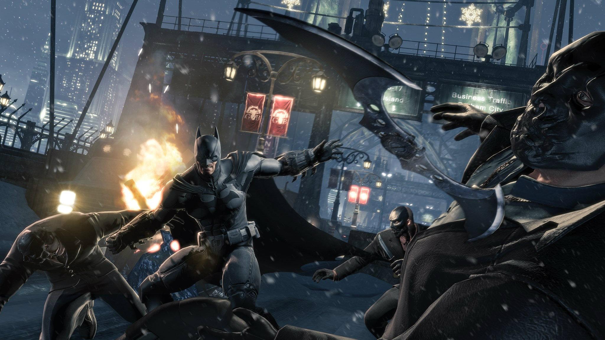 เกมส์ Batman Arkham Origin