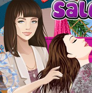 เกมส์จับคู่ sofia at hair salon