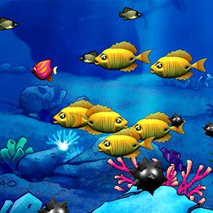 เกมส์ทั้งหมดเกมส์ปลาใหญ่กินปลาเล็ก
