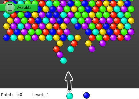 เกมส์ยิงลูกบอล BubbleShooter