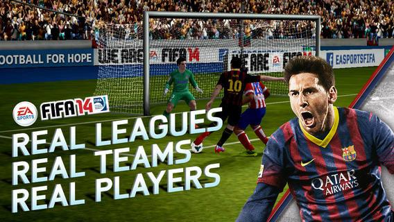 EA ใจดีปล่อยโหลด FIFA 14 ฟรี! ทั้ง iOS, Android