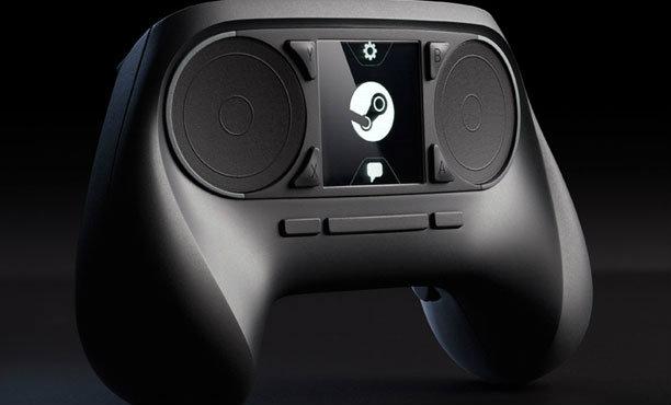Steam Controller จอยเกมหน้าตาพิลึก