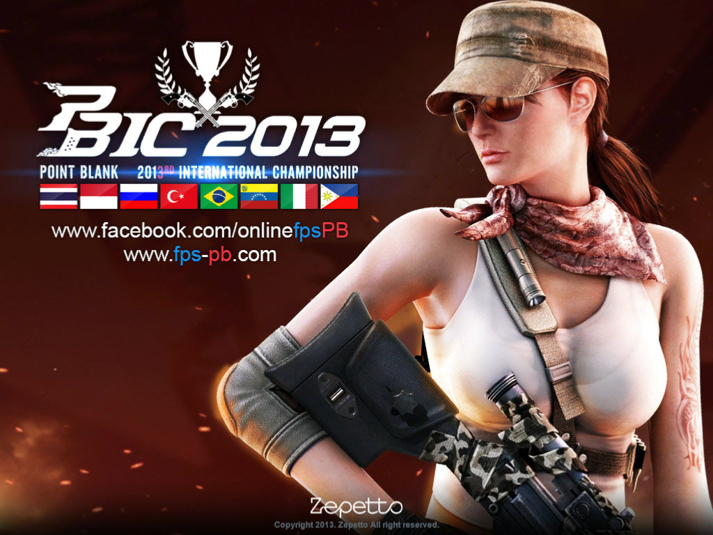 Point Blank เผยแล้ว PBIC2013 Series ปืนที่ดีที่สุดแห่งปี