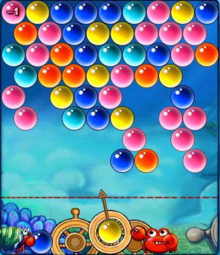 เกมส์ปูยิงลูกบอล