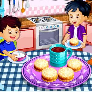 เกมส์เสิร์ฟอาหาร เกมส์ทำขนมให้เด็กๆ