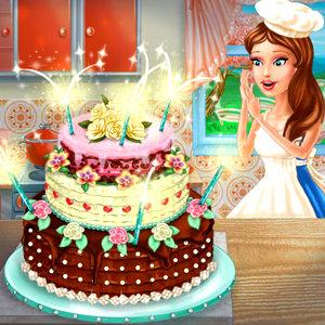 เกมส์ทำอาหาร เกมส์เอลล่าทำเค้กแต่งงาน