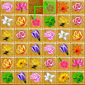 เกมส์จับคู่ เกมส์จับคู่ดอกไม้แสนสวย