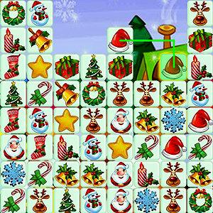 เกมส์จับคู่ เกมส์จับคู่ของขวัญกับลุงซานต้า