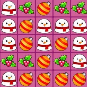 เกมส์จับคู่ เกมส์เปิดภาพจับคู่คริสมาสต์