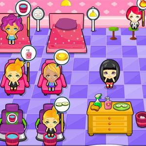 เกมส์แต่งตัวเกมส์ร้านสปาพาเพลิน