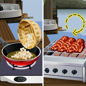 เà¸à¸¡à¸ªà¹Œà¸—ำอาหารเกมส์ทำบาร์บีคิวไก่