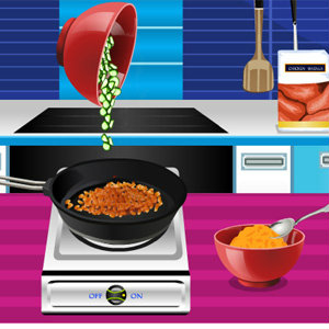 เกมส์เสิร์ฟอาหาร เกมส์ทำซุปผักรวม