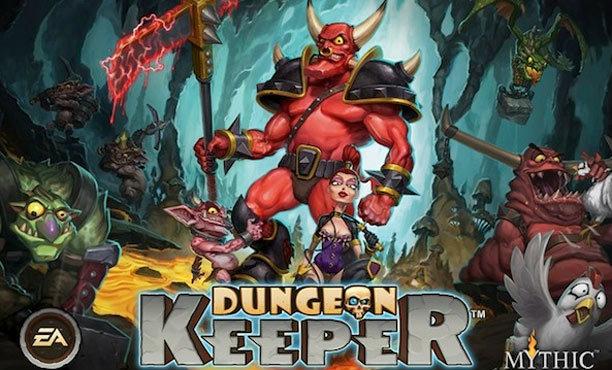 วิธีการเล่น Dungeon keeper iOS