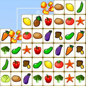เกมส์ เกมส์จับคู่พืชผัก