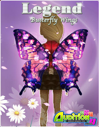 "Audition ต้อนรับ Season 4 ด้วย""Legend Butterfly Wings"""