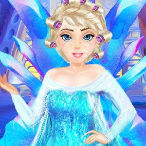เกมส์แต่งตัว เกมส์แต่งตัวราชินีหิมะ Frozen Elsa Freezing