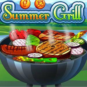 เกมส์ทำเค้ก เกมส์ทำอาหาร Summer Grill