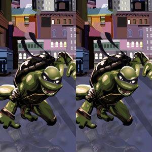 เกมส์จับผิด เกมส์จับผิดภาพ NINJA TURTLES