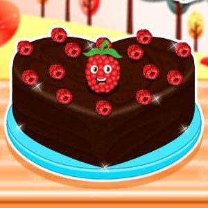 เกมส์ทำเค้ก ช็อคโกแลตราสเบอร์รี่